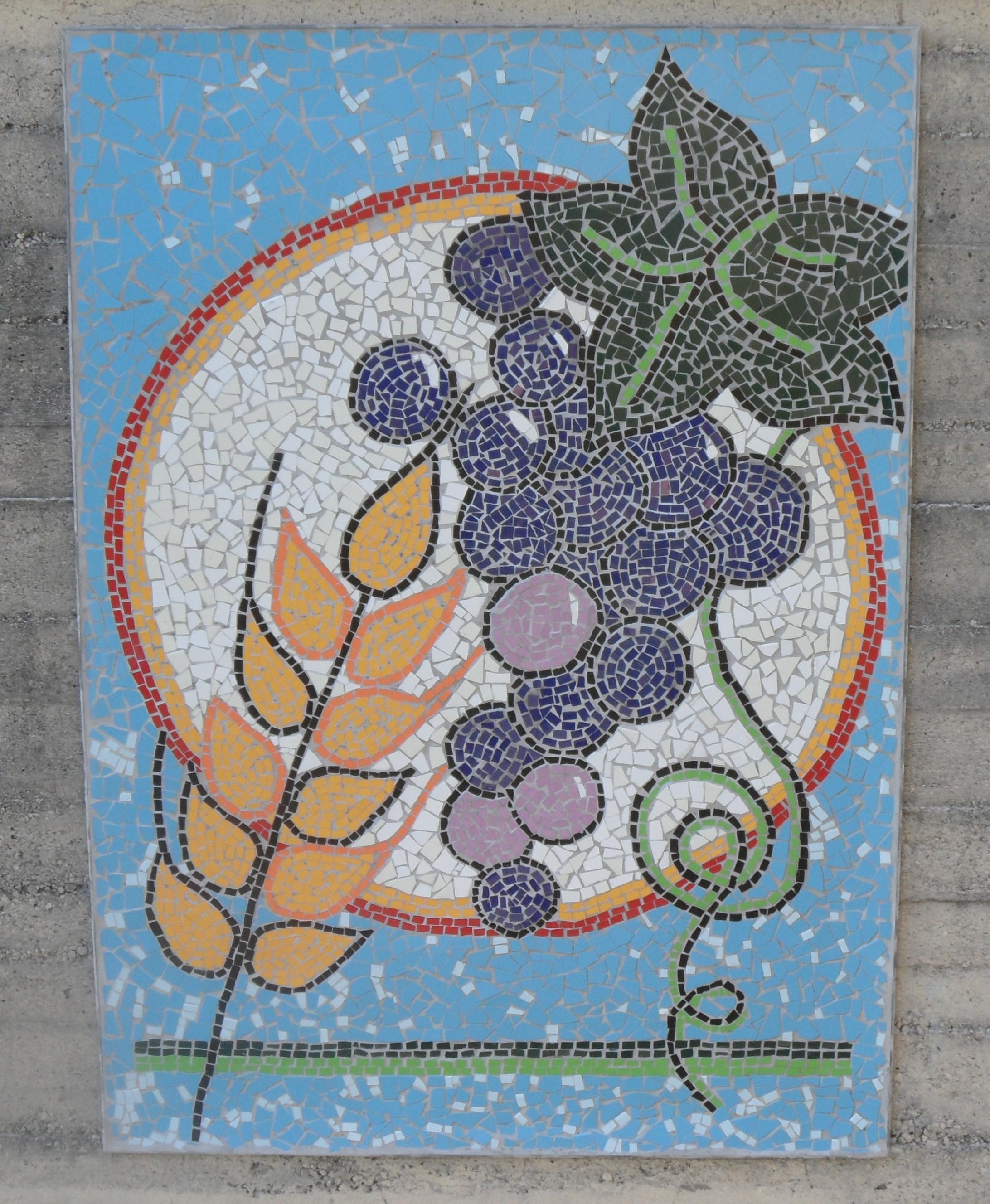 Favorito Pane e Vino, Uva e Grano | PARCO MOSAICI DI BLEVIO (Lago di Como) FB09