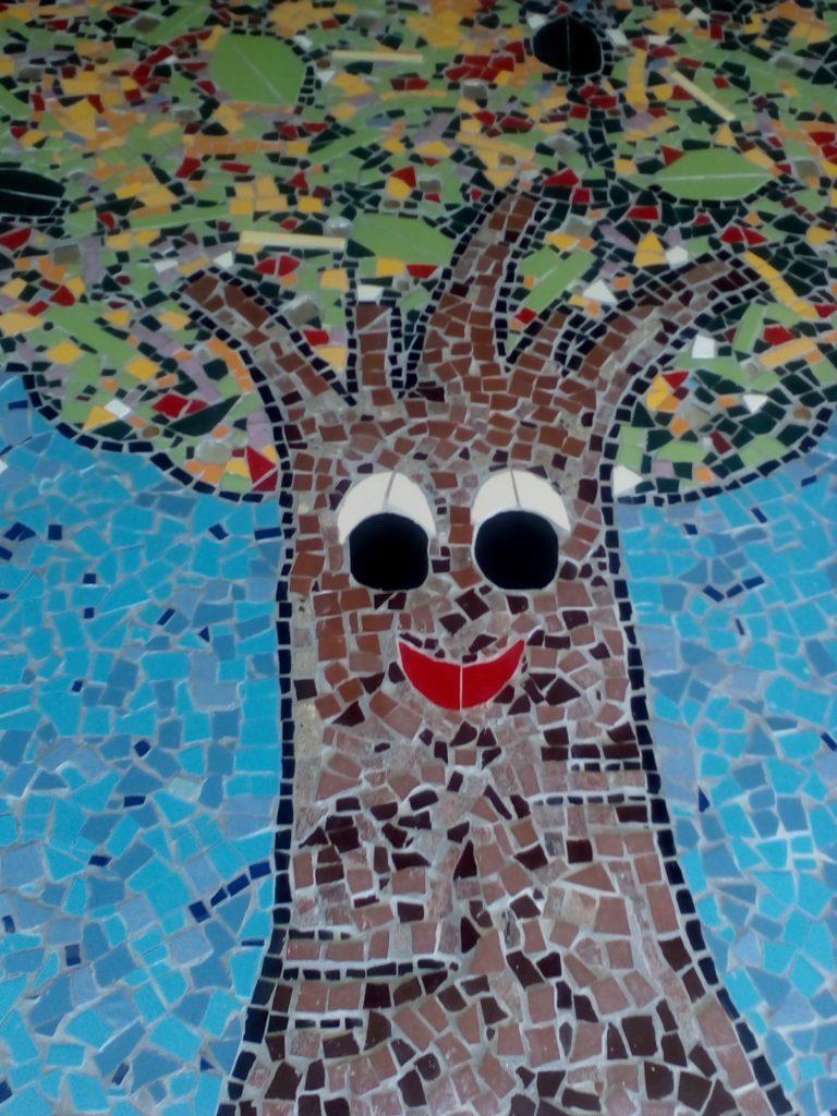 albero mosaico Blevio 2017