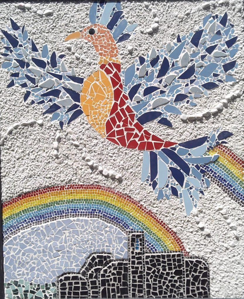 La Fenice mosaico Blevio