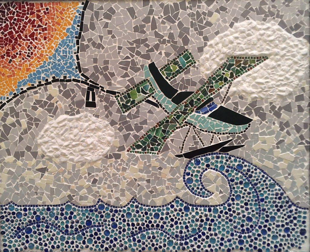 idrovolante Parco Mosaici di Blevio